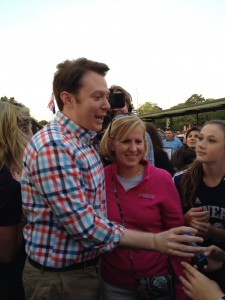 Clay Aiken and Michelle